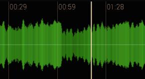 MusicTrans Waveform